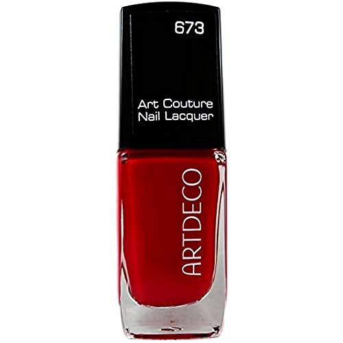 Artdeco Art Couture Unisexe Vernis à ongles, vernis à ongles, couleur : 673 couture Red Vulcano, 1er Pack (1 x 10 ml)