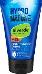alverde MEN Hydro Nature Feuchtigkeitscreme Bio-Aloe Vera, 1 x 50 ml