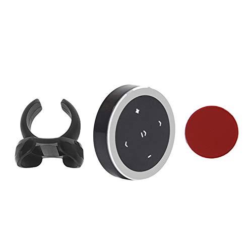 Hub del Volante Control de la cámara de Control Remoto Soporte inalámbrico Bluetooth Dirección del automóvil Control Remoto (Color : NO.1)