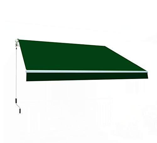 SmartSun Markise Classic 3x2m Polyester grün