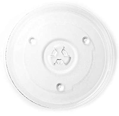 "HapWay Small 10.5""/27cm Microwave Glass Plate Replacement? Microwave Glass Turntable Tray Replaces?Compatible with Emerson P23? Hamilton Beach? Sunbeam? Magic Chef etc"