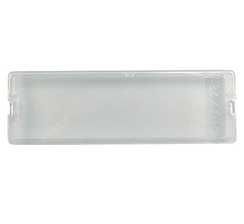 Lampenabdeckung für die Lampe der Dunstabzugshaube 155 x 50 mm Juno 405518301/8