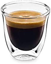 Double Walled Espresso GLASS Cups, 60ml, 2.02oz, Thermal Cool (2)