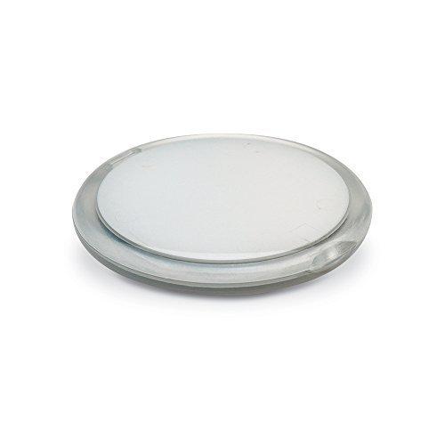 eBuyGB Lot de 10 miroirs de Maquillage Double Face grossissant Compact pour Femme Transparent