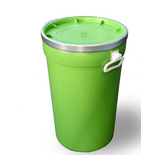 Mugar Bidon de plástico con Boca Ancha de 50 litros Encajable