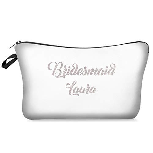 DKHF Cosmetic bag Cosmetic Bag Multicolor Pattern Cosmetic Bag Lady Zipper Cosmetic Bag