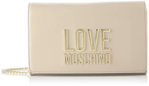 Love Moschino Precollezione SS21 | Borsa a Spalla da Donna, Beige, Normal