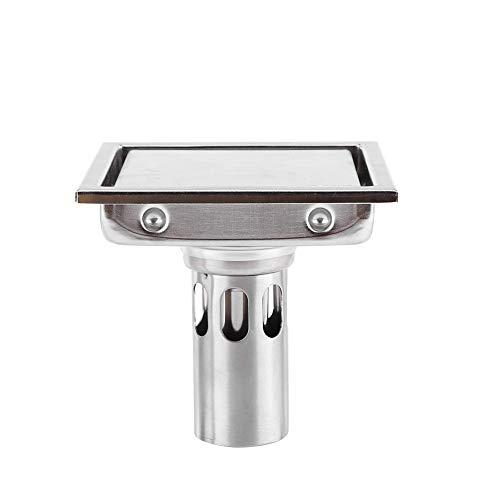 Bodenablauf 304 Edelstahl Anti geruchseinsatz Platz Dusche Bodenablauf sieb für Bad Wc Küche