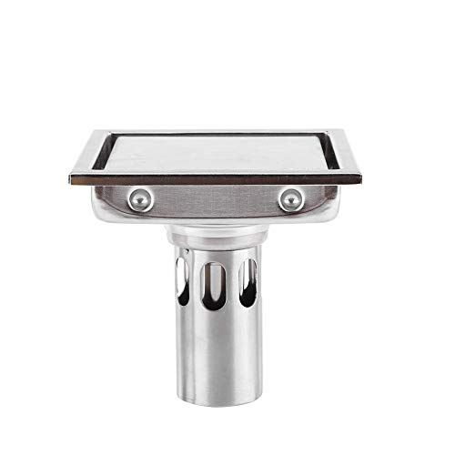 Garosa 304 Edelstahl Duschablauf Bodenablauf Haarsieb für Küche Waschküche Keller Badezimmer Zubehör