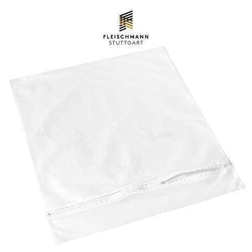 Fleischmann Waschmaschine Wäschesack I XXL Wäschenetz I Schutz für Microfaser, empfindliche Wäsche und Schuhe I 50 x 55 cm I Wäschebeutel zum Wäsche waschen