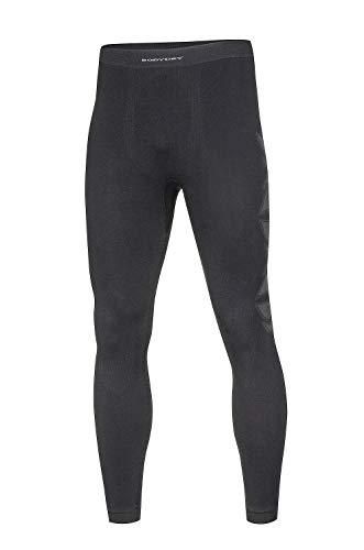 BodyDry 'Caleçon sous-vêtement Fonctionnel Turtle thermoactif Respirant – Ski – sous-Vêtement de Ski Snowboard – Ski – Roue – Moteur de sous-vêtements – Caleçon – sous-vêtements Thermiques XXL Noir