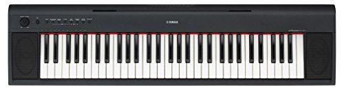 Price comparison product image Yamaha Piaggero NP11 61-Key Lightweight Compact Portable Keyboard