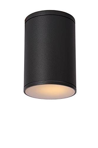 Lucide TUBIX - Spot Plafond Extérieur - Ø 10,8 cm - IP54 - Gris