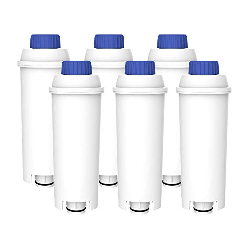 Clarifilter CLF-11 Kaffeemaschinen wasserfilterersatz kompatibel mit DeLonghi DLSC002, SER3017, 5513292811 Kaffeevollautomat - Maestosa, Primadonna, Magnifica, Dinamica, Eletta & ESAM ETAM (6)