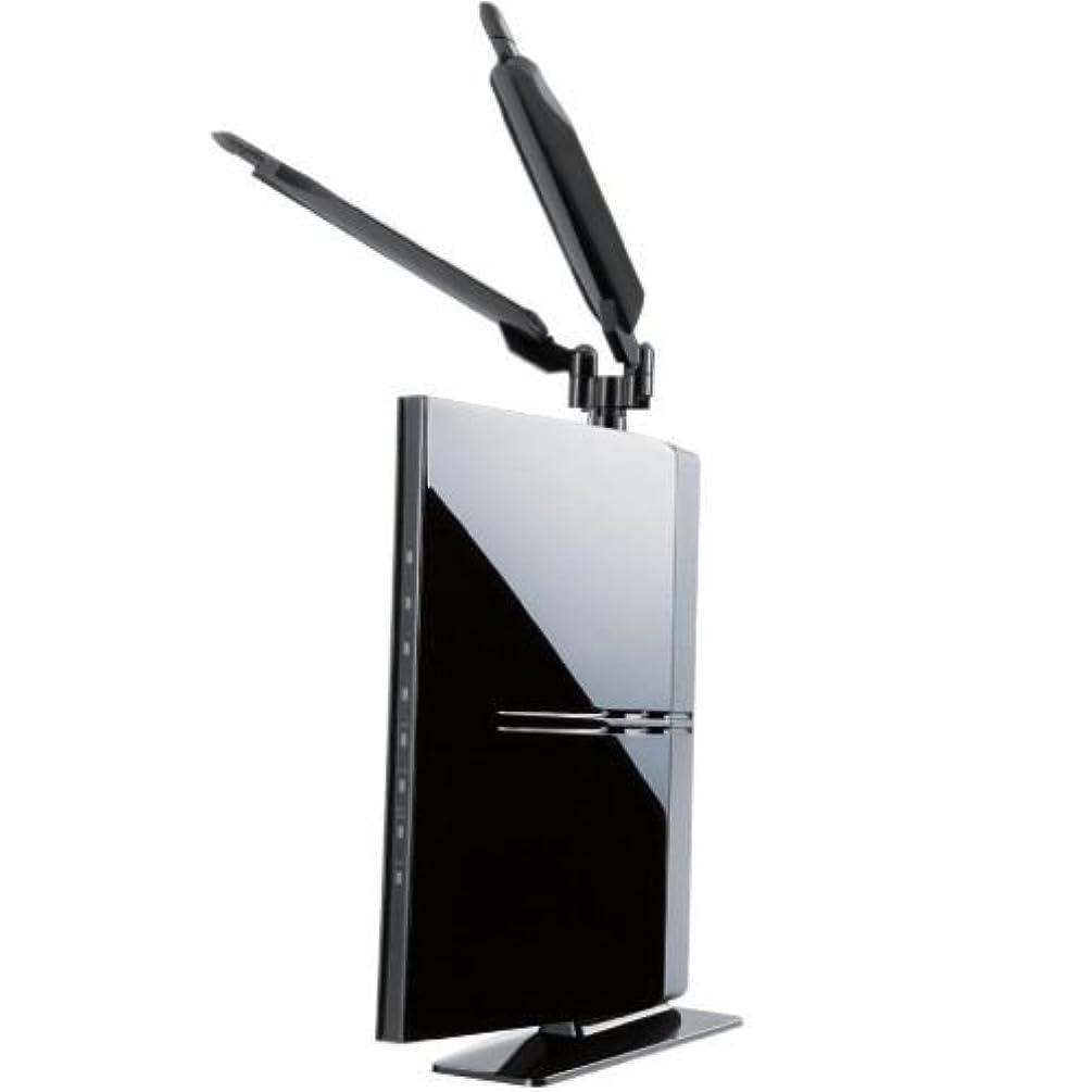 コールドめる作りLogitec 無線LANルータ 300Mbps Giga 11na アンテナ付 プリンタ共有 LAN-WH300AN/DGR