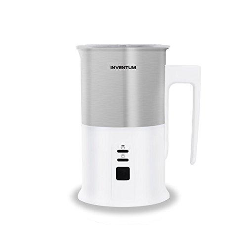 Inventum MK351 Schiumatore per latte automatico Acciaio inossidabile, Bianco montalatte
