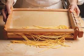 La Vera Chitarra abruzzese Prodotta artigianalmente per Spaghetti alla Chitarra, tagliatelle e Adatta Anche per i Pici toscani