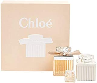 Chloe Perfume Gift Set for Women (EDP 75ml, Lotion 100ml & 5ml mini)
