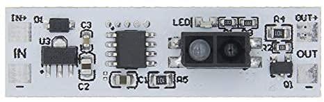 Uspick Módulo de Bricolaje DC 12V Módulo de Interruptor de Sensor de Barrido Manual Sensor de escaneo de Corta Distancia Kit de Bricolaje Módulo de Placa PCB electrónica