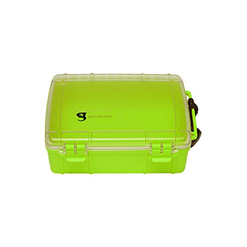 geckobrands Waterproof Dry Box Large Yellow