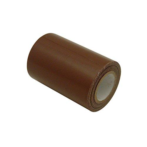 JVCC REPAIR-2HD Cinta de reparación de cuero y vinilo: 3 in. x 15 ft. (marrón)
