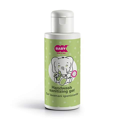 OKBABY 39210000 - Gel de manos desinfectante para adultos y bebés. 100% sin alcohol y con acción higienizante, unisex