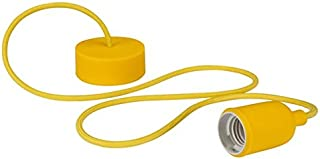 Velleman LAMPH01Y Luminaire Design à Suspension en Cordage Verre Jaune