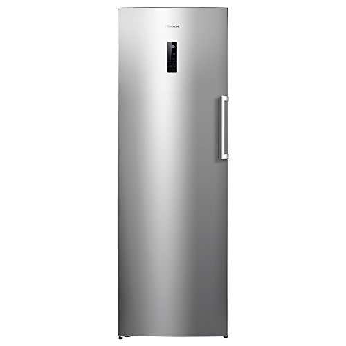 Hisense FV341N4BC2 Independiente Vertical 260L A++ Acero inoxidable - Congelador (Vertical, 260 L, 20 kg/24h, SN-T, Sistema de descongelado, A++)