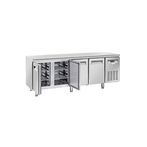 Table Réfrigérée Négative Profondeur 600-4 Portes - Cool Head - 600