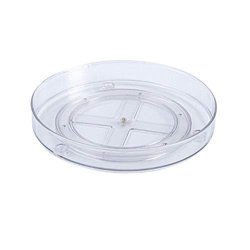 Gewürzkarussell-Gewürzregal 1/2/3 Level Storage Turntable - Multi Level Rotary Küchengewürzregal Für Schränke Pantries Badezimmer-Einzelschicht A.