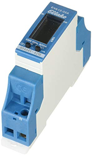 Eltako EVA12-32A Direktanzeige mit der Energieverbrauchsanzeige