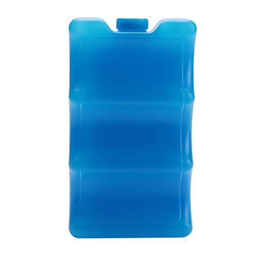Paquet de glace réutilisable pour boîte à lunch à double face pour stockage du lait maternel(Forme bleue profilée double face)