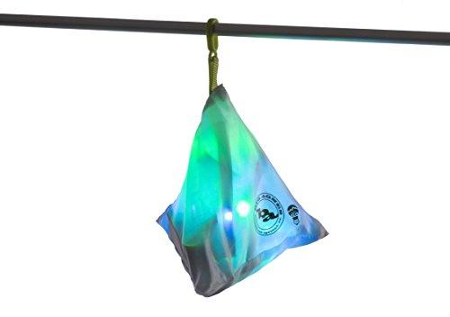 BIG AGNES mtnGLO Zelt & Camping-Beleuchtung (Blau/Grün)