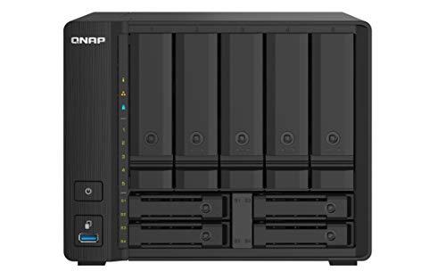 Qnap TS-932PX-4G 5+4 Bay High-Speed NAS mit Zwei 10 GbE und 2,5 GbE Ports TS-932PX-4G-US, 4gb ram