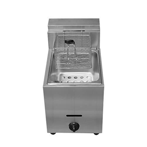 BL Panier Simple de friteuse Profonde de gaz d'équipement de Restaurant pour la friteuse de copeaux de gaz de Cuisine à la Maison Commerciale