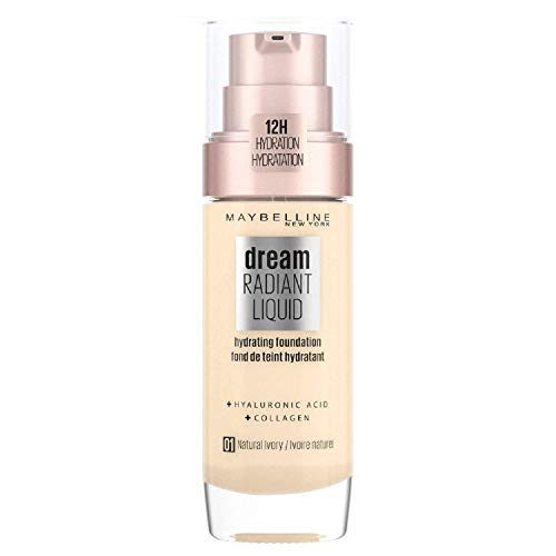 Maybelline Dream Satin Foundation Maquillaje Fluido 1 Natural Ivory
