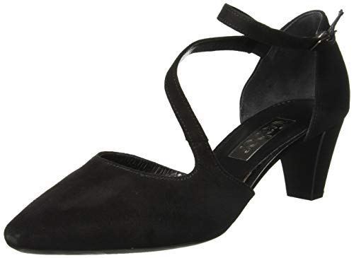 Gabor Damen Fashion 21.361. Pumps, Schwarz (Schwarz 17), 42 EU