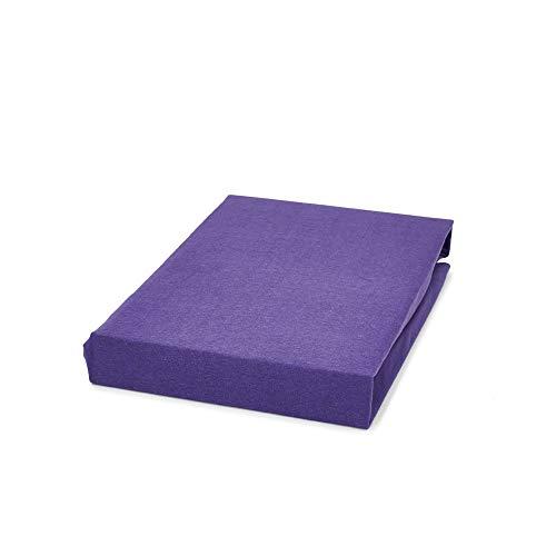 DreamHome waterbed hoeslaken boxspring hoeslaken bedlaken 180x220 / 200x220 40cm steg, kleur: lila