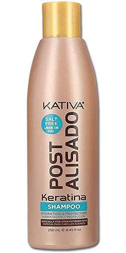KATIVA Brazilian Keratina Post Alisado Shampoo 250 ml