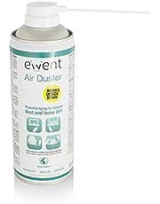 Ewent EW5600 - Spray de Aire comprimido Limpia Polvo Reversible, Color Blanco