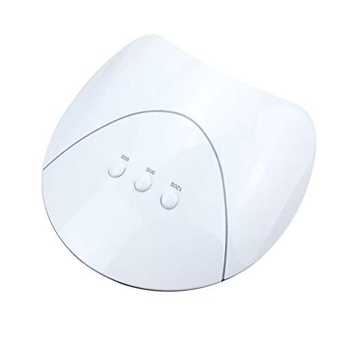 Wwjlamp Nagel-Lampen-Fototherapie-Maschine 36W gegrillte Lichttherapie-Lampen Nagel-Poliermittel-Trockner-intelligenter Sensor UV mit 3 Geschwindigkeits-automatischem Timing,White