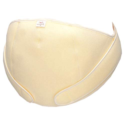 エンゼル お腹をしっかり支えて腰をサポート フリー妊婦帯(腹帯) 日本製 フリーサイズ (クリーム)