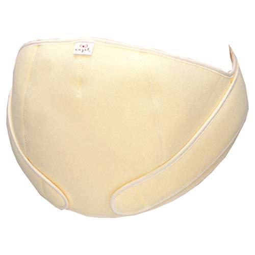 エンゼルお腹をしっかり支えて腰の痛みを軽減するフリー妊婦帯(腹帯)日本製フリーサイズ(クリーム)