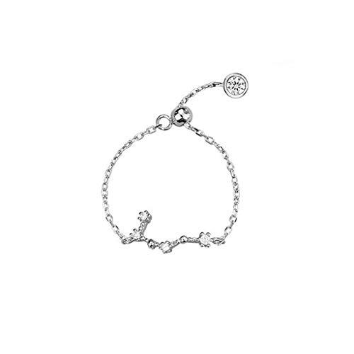 Yvelands Schmuck Damenmode Einstellbare Konstellation Ring Ringe