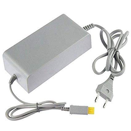 WICAREYO Adaptateur Secteur Chargeur pour Wii U, Alimentation Adaptateur Secteur avec Enrouleur de câble pour Console WII U