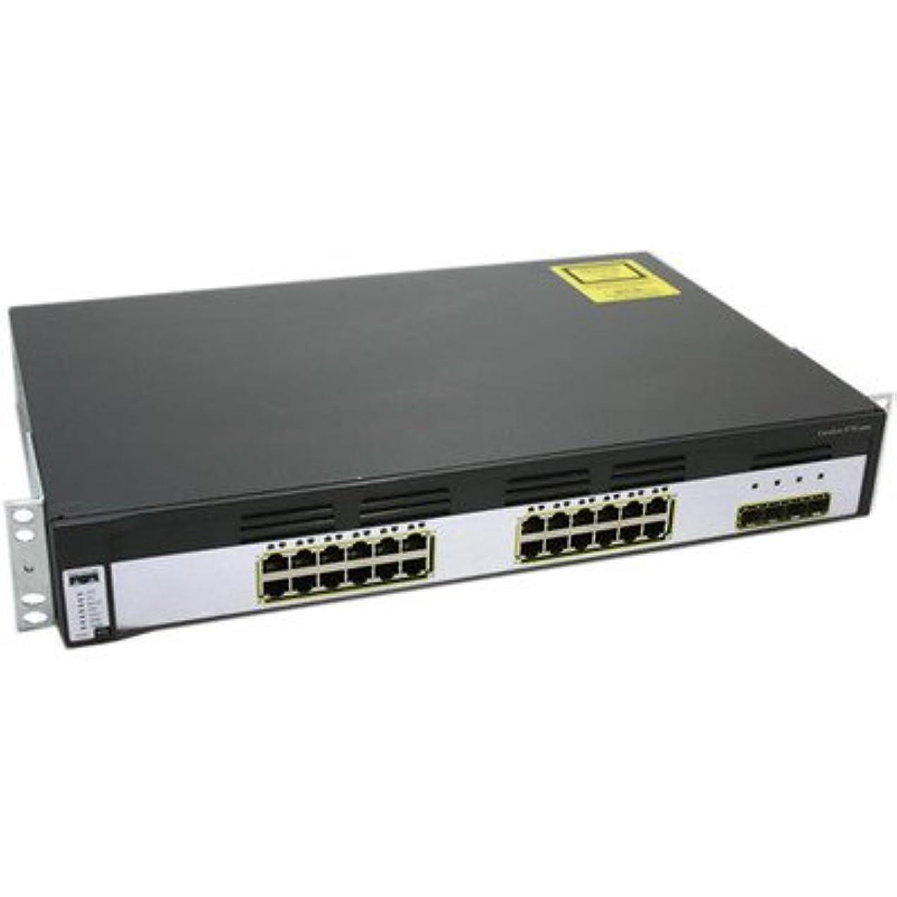 真向こう大きさ謙虚Cisco Catalyst 3750?–?Ingram認定pre-owned g-24ts-sイーサネットスイッチ?–?24ポート?–?pre-owned?–?ws-c3750g-24ts-s