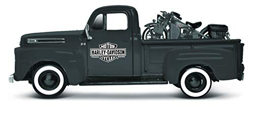 Maisto 532185 - Modellino Harley-Davidson Ford F-1 Pickup 1948 e WLA Flathead 1942 , Scala 1:24