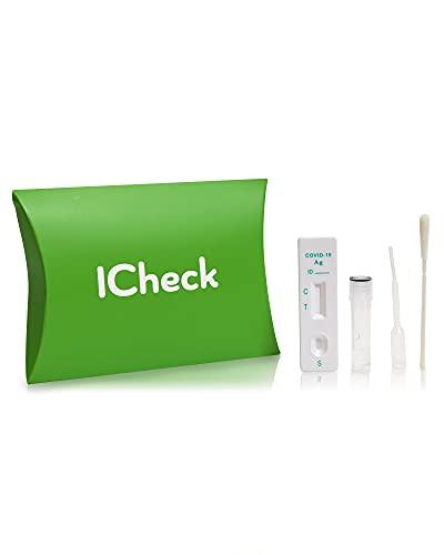 ICheck アイチェック 新型コロナ抗原検査キット 唾液で検査 自宅で最短15分スピード検査(研究用)