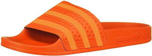 adidas Adilette Badeschuhe Damen, orange, 37