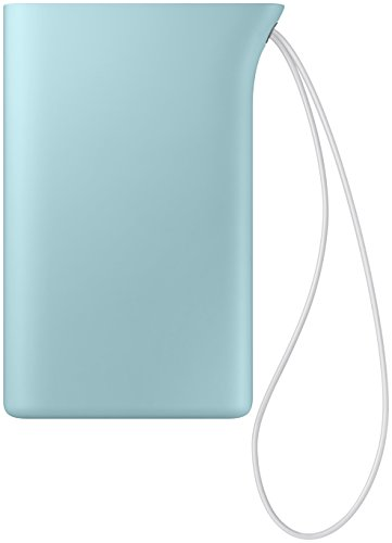 Samsung Kettle 5,100mAh Wiederaufladbarer Externer Akkupack EB-PA510BLEG mit 1x USB-A-Ladeausgang, Handschlaufe, Ladekabel mit integriertem Standfuss - Hellblau